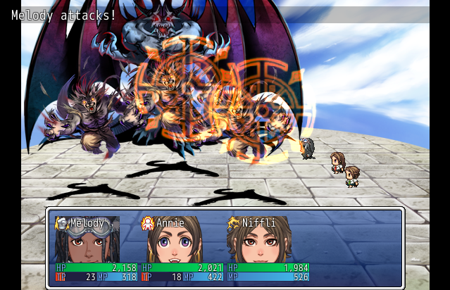 Kyoukou Academy Temple Survival (Mini-Game)