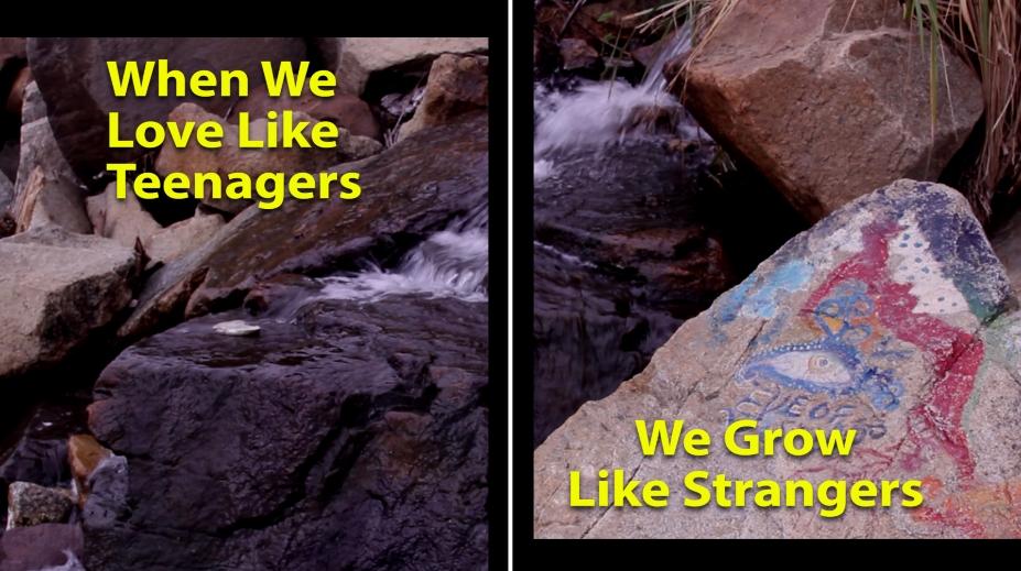 When We Love Like Teenagers, We Grow Like Strangers