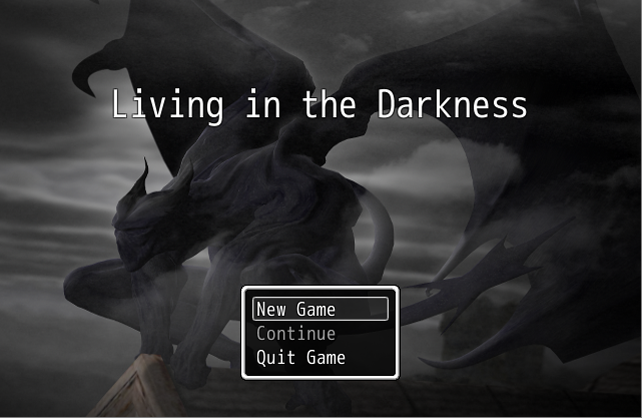 Living in the Darkness