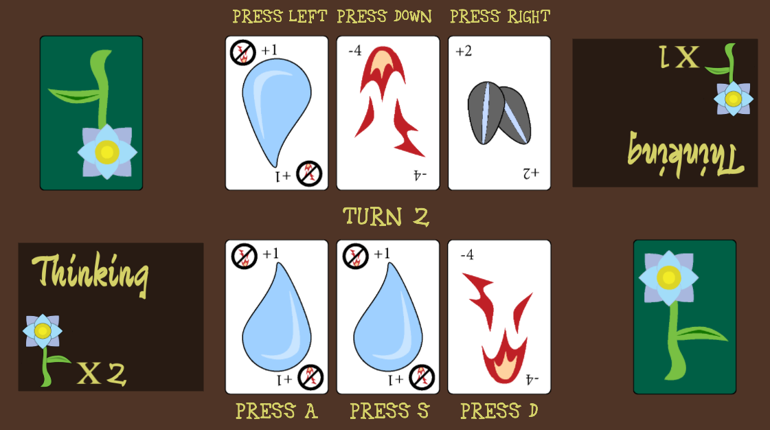 Seed, Water, Fire Cards