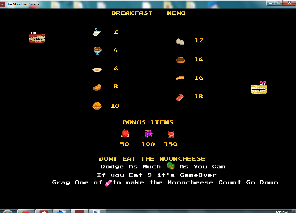 The Munchers Arcade/Action Game Made with Stencyl
