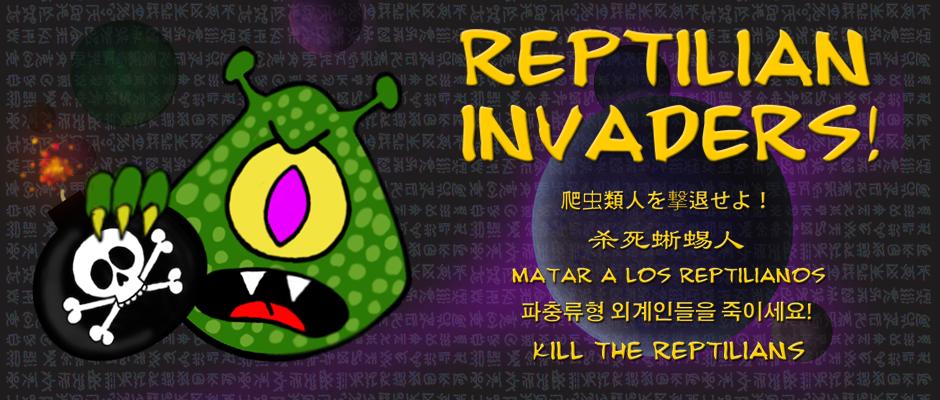 Reptilian Invaders!