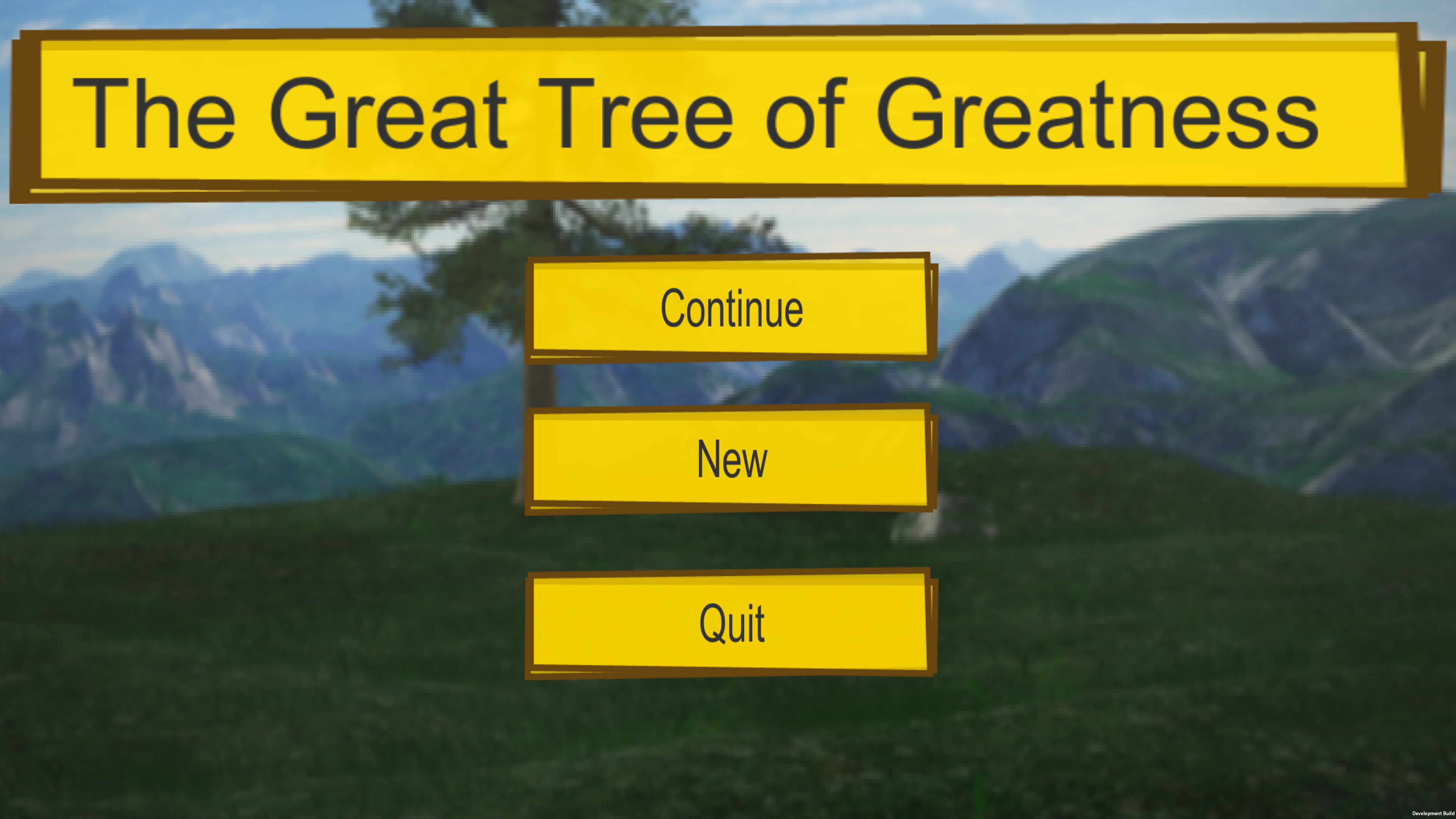 The Great Tree of Greatness