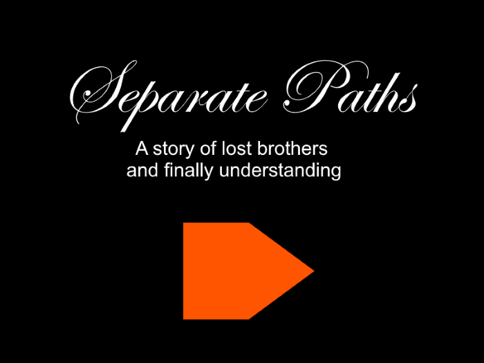 Separate Paths