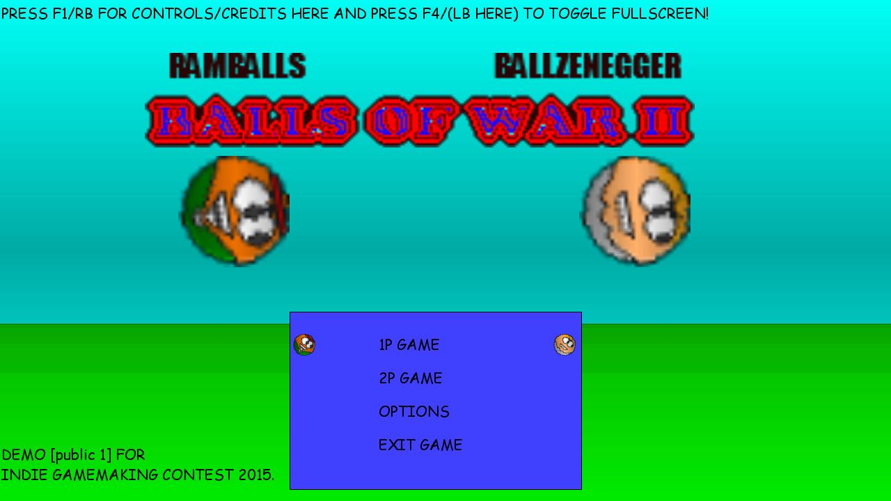 Balls Of War II (Demo)