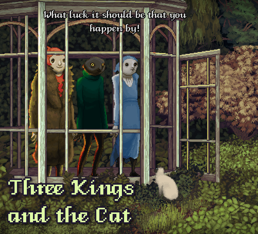 Three Kings and the Cat